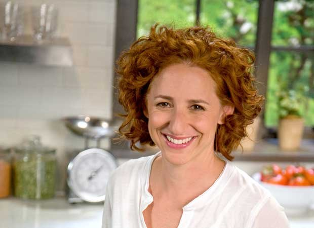 Promotional photo of chef Sarah Carey. In this episode of