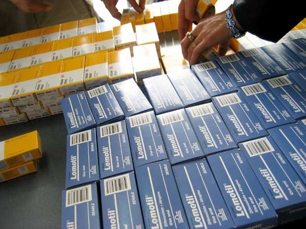 Counterfeit drugs seized in Bogota, Colombia