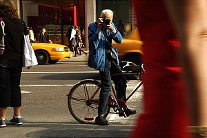An Homage To Street Fashion Photog Bill Cunningham