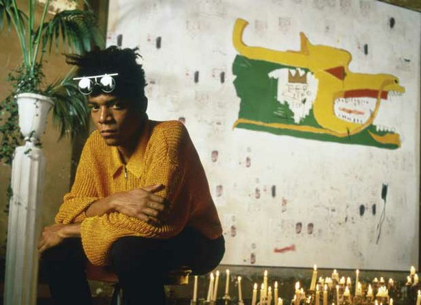 Jean-Michel Basquiat, a young artist who revolutionized the New York art scen...