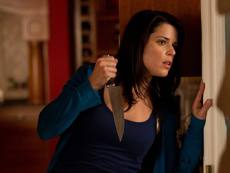 Poor Sidney (Neve Campbell) is being stalked yet again in