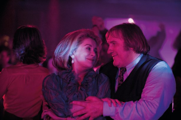"Catherine Deneuve and Gerard Depardieu are the main attraction in ""Potiche."""