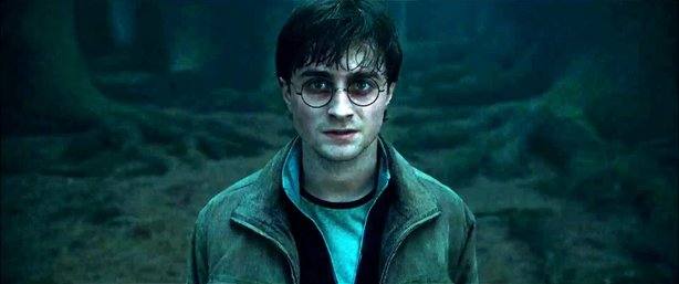 "Daniel Radcliffe returns for one last time as the title character in ""Harry P..."