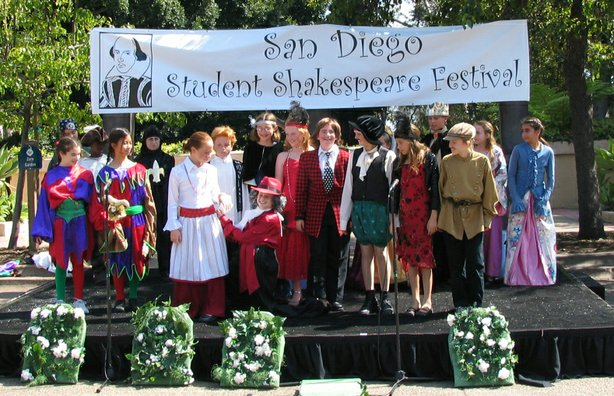 La Jolla Country Day performing at the First Annual San Diego Student Shakesp...