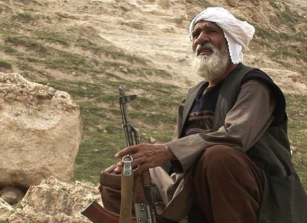 An Afghan Arab, known only as Khan, claims to be the regional commander for 3...