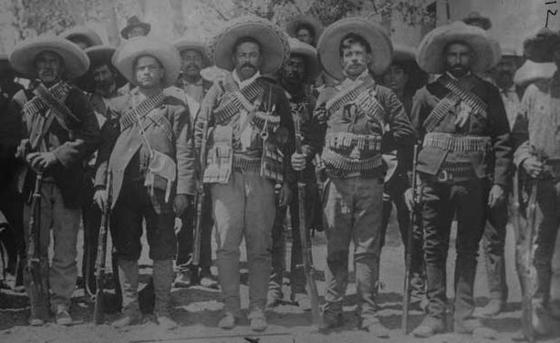 "General Francisco ""Pancho"" Villa and his elite fighting group, the Dorados."