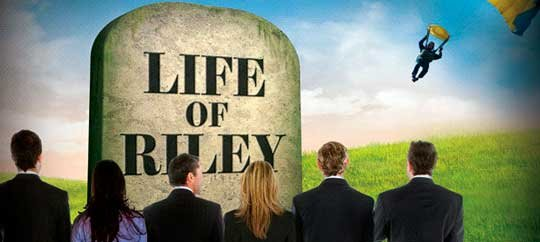 Life of Riley will be playing at the Old Globe through June 5.