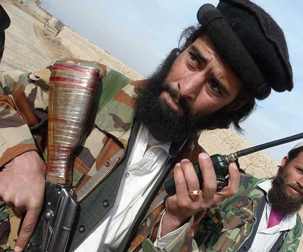 Taliban leader Khalid Amin, who now commands around 50 insurgents in the nort...
