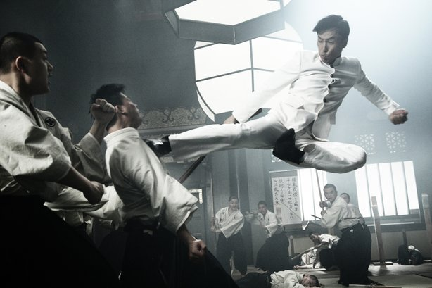 "Donnie Yen is in peak form as Chen Zhen in ""Legend of the Fist."""