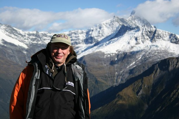 Richard Bangs at Mount Aspiring in New Zealand