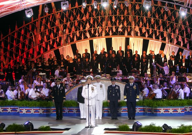 "The U.S. Joint Chiefs of Staff participate in the ""National Memorial Day Concert,"" which honors the service and sacrifice of men in women in uniform, their families at home and all those who have given their lives for our country."