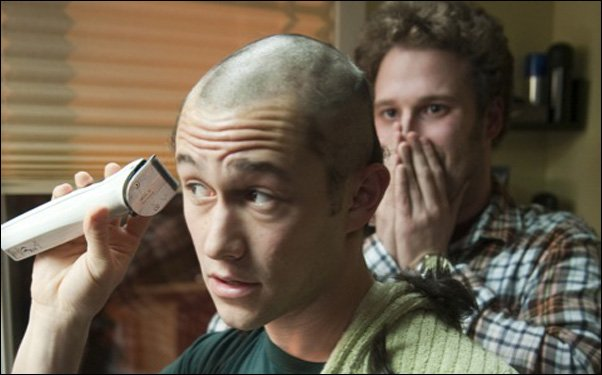 "Josephe Gordon-Levitt and Seth Rogen star in the upcoming Fall release ""50/50."""