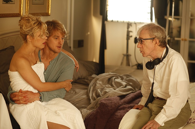 Woody Allen directs Rachel McAdams and Owen Wilson in