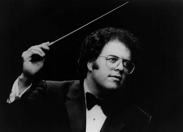 Met Opera Music Director James Levine circa late 1970s.