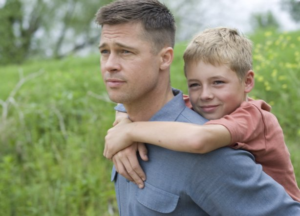 "Brad Pitt stars in Terrence Malick's first film in 6 years, ""The Tree of Life."""