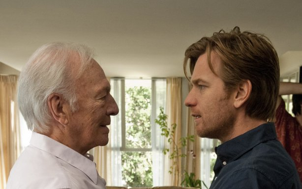 "Christopher Plummer and Ewan McGregor star as father and son in ""Beginners."""