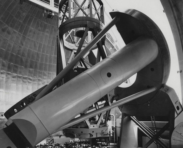 Palomar Hale telescope dedication, 1948.