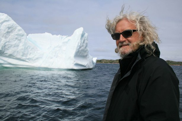 """Scottish actor, writer and comedian Billy Connolly visits the Arctic Circle in """"Journey To The Edge Of The World."""""""