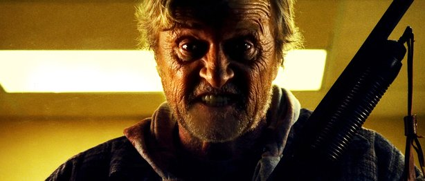 "Rutger Hauer is a ""Hobo with a Shotgun."""