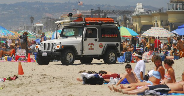 More than a million people are expected at San Diego beaches this 4th of July weekend.