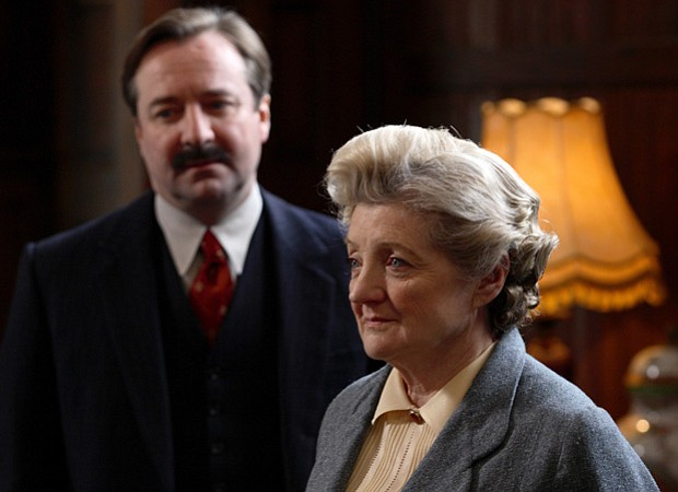 Julia McKenzie as Miss Marple as seen in