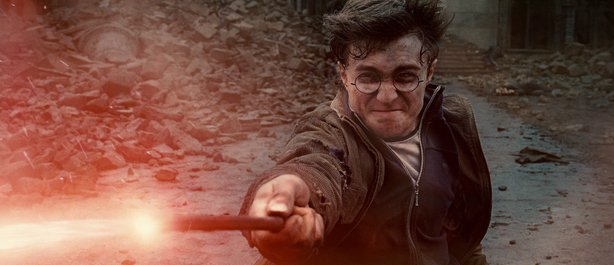 "Daniel Radcliffe as Harry Potter in Warner Bros. Pictures' fantasy adventure ""Harry Potter and the Deathly Hallows, Part 2"" a Warner Bros. Pictures release."
