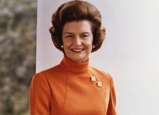 Former First Lady Betty Ford
