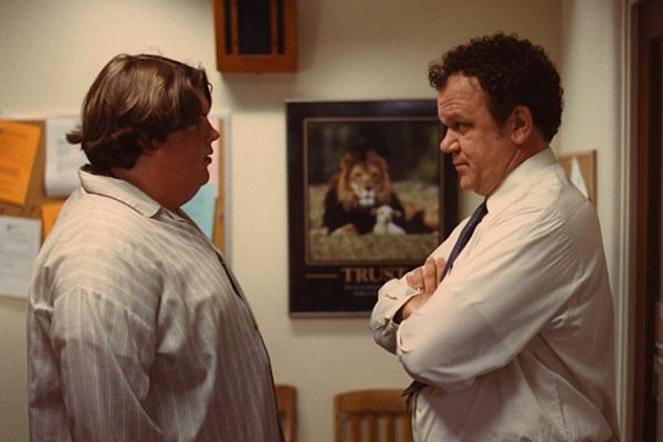 "Jacob Wysocki and John C. Reilly in ""Terri."""