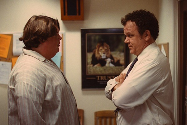 Jacob Wysocki and John C. Reilly in