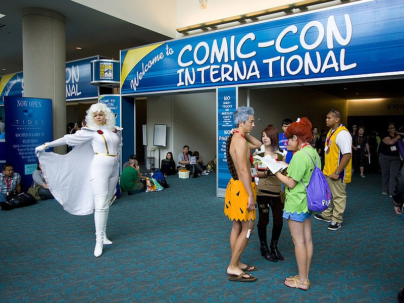 Comic-Con International begins today and runs through Sunday in downtown San ...