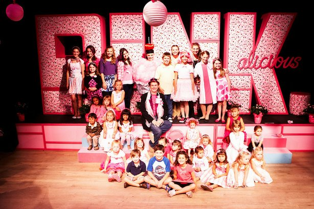 "The cast of the San Diego Junior theater's 2010 production of ""Pinkalicious T..."
