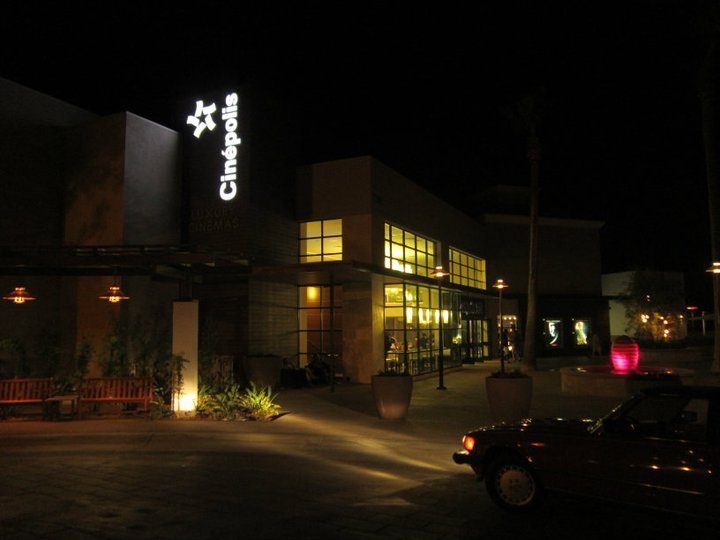 The new Cinepolis Luxury Cinemas in Del Mar Highlands Town Center.