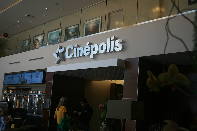 The new Cinepolis Luxury Cinemas in Del Mar Highlands.