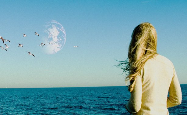 "Britt Marling stars as Rhoda in ""Another Earth,"" a film she also co-wrote."