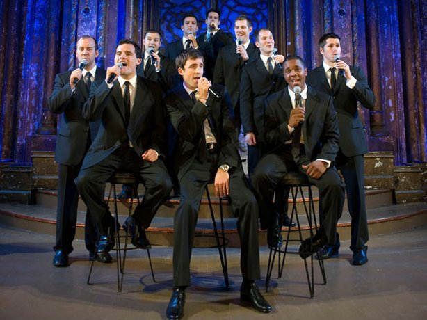 The a cappella phenomenon Straight No Chaser presents an entertaining evening...
