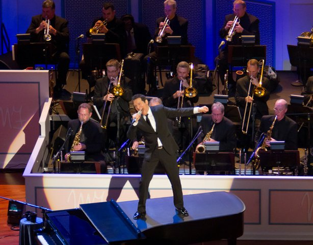 Michael Feinstein performs on stage, May 12, 2011 in the newly-completed one ...