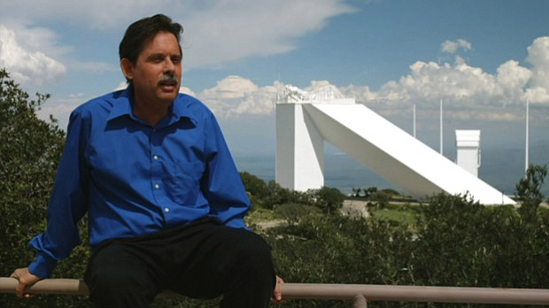 Mark Giampapa, Ph.D., deputy director, National Solar Observatory, explains t...