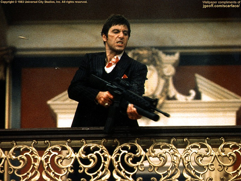 Al Pacino as Tony Montana in