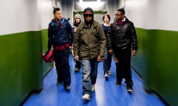 "Teens vs. aliens in ""Attack the Block."""