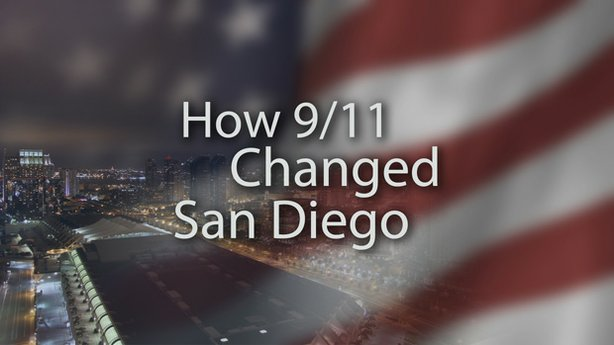 "Title graphic for Envision San Diego's television documentary, ""How 9/11 Chan..."