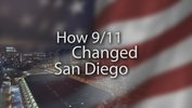 "Title graphic for Envision San Diego's television documentary, ""How 9/11 Changed San Diego."""