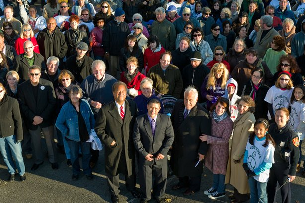 Patchogue community portrait on the two-year anniversary of Marcelo Lucero's death.