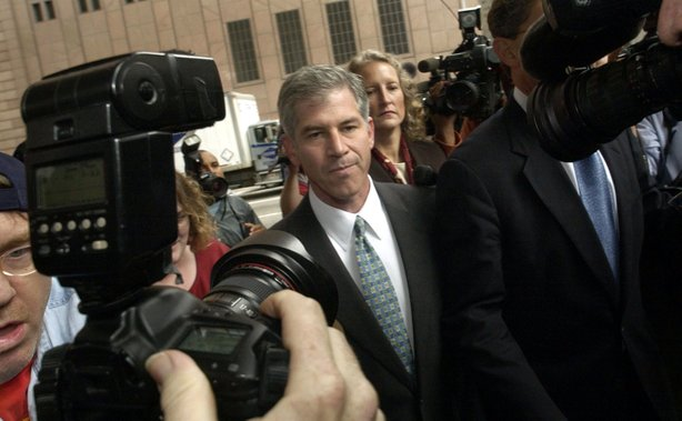 "The documentary ""Enron: The Smartest Guys in the Room."""