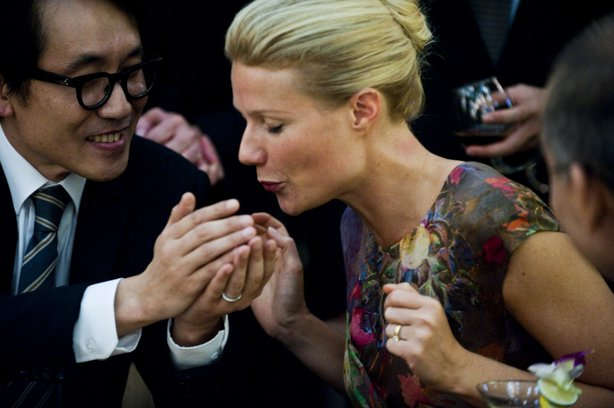 "Gwenyth Paltrow is the starting point for a global pandemic in ""Contagion."""