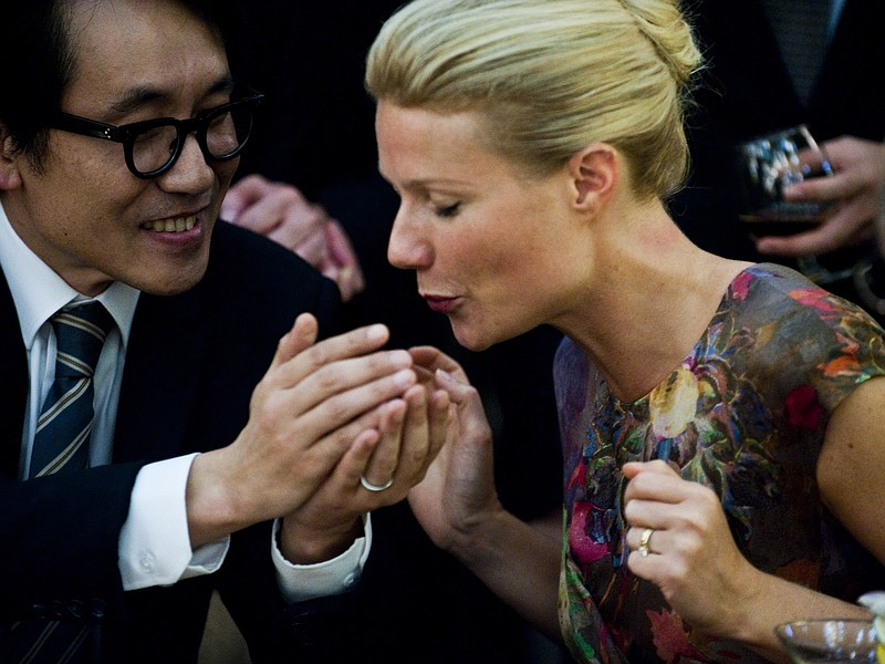 Gwenyth Paltrow is the starting point for a global pandemic in
