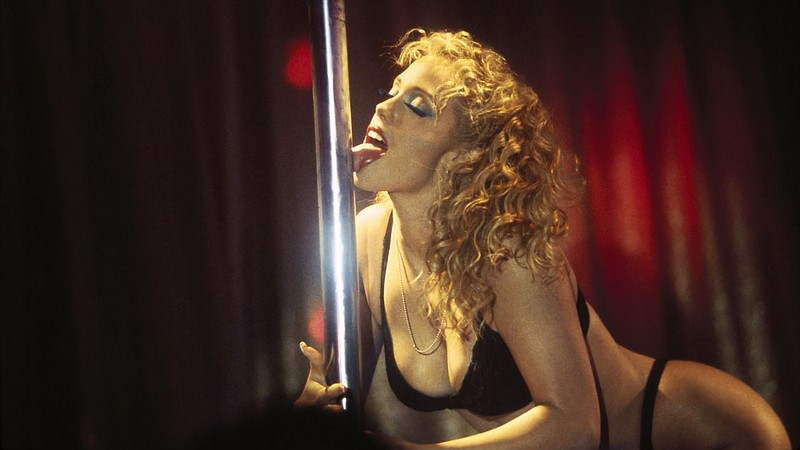 Elizabeth Berkley stars as a stripper... um, I mean dancer in Paul Verhoeven'...