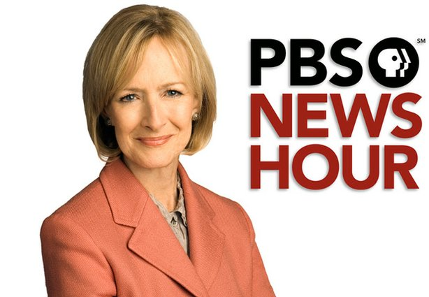 "Promotional photo of Judy Woodruff of ""The PBS NewsHour."" Woodruff moderated ..."