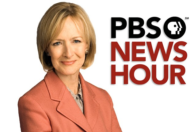 Promotional photo of Judy Woodruff of