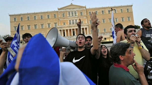 In June, youth demonstrators in Greece protested against the country's new au...