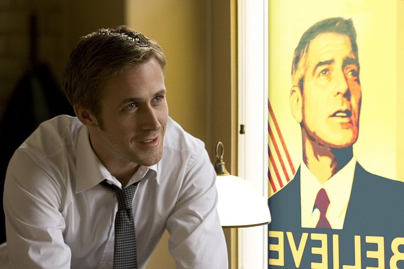 Ryan Gosling is a staffer on the campaign trail for a presidential hopeful in...